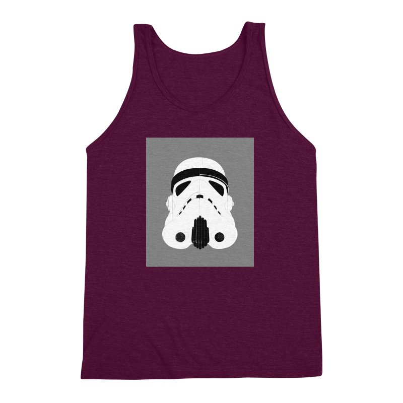Star Wars Mask Men's Triblend Tank by diegoverhagen's Artist Shop