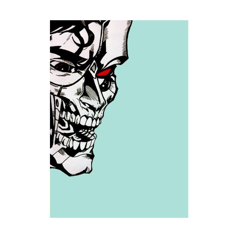 Half machine, half villain by DieGraphics print corner