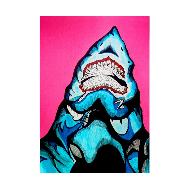 Neon sea predator by DieGraphics print corner