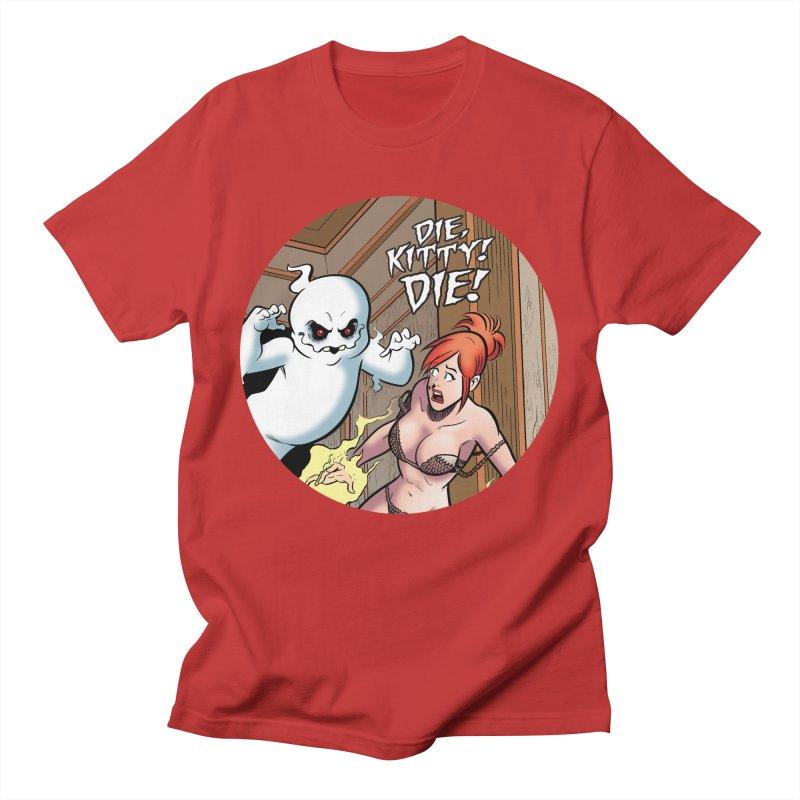 Dippy vs. Kitty! Men's T-Shirt by Die Kitty Die Shop