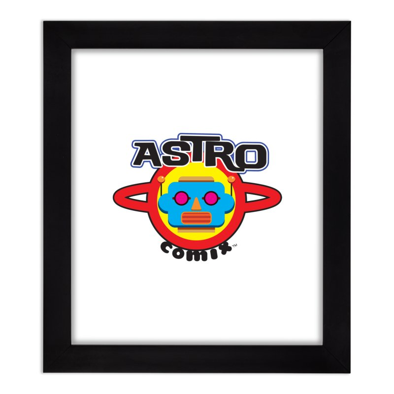 ASTROCOMIX Home Framed Fine Art Print by Die Kitty Die Shop
