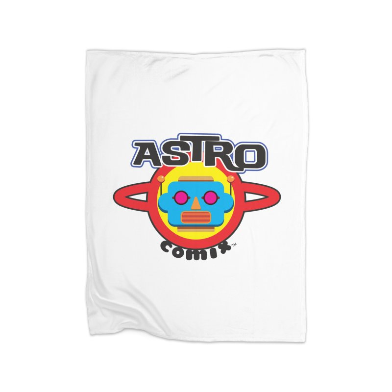 ASTROCOMIX Home Blanket by Die Kitty Die Shop