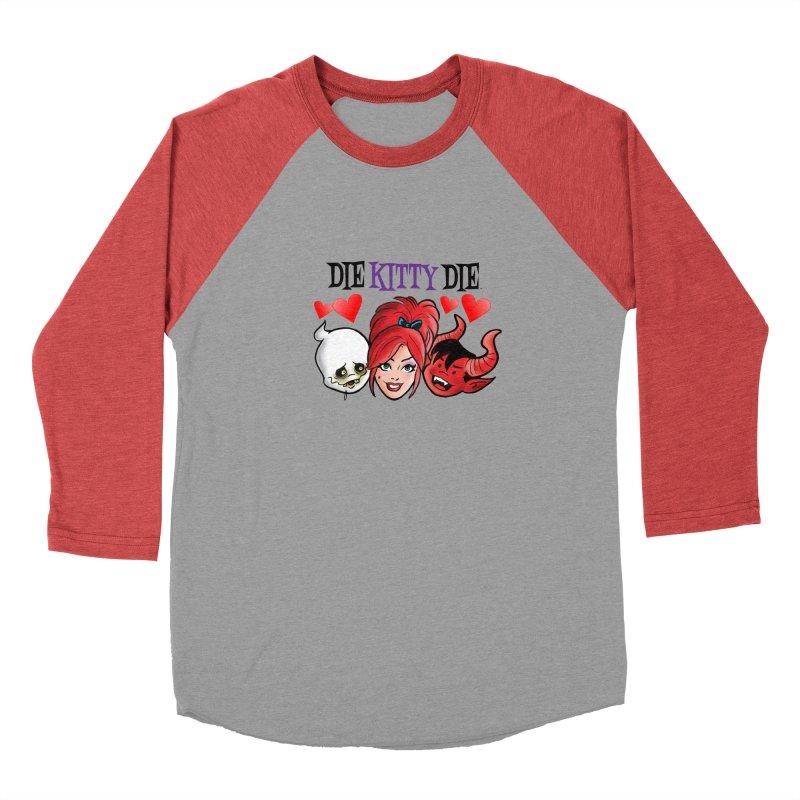 The Gang of Three! Men's Longsleeve T-Shirt by Die Kitty Die Shop