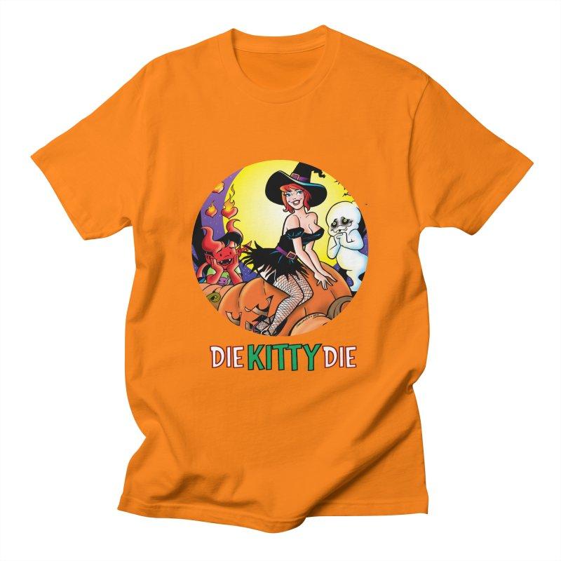 Kitty Halloween Men's T-Shirt by Die Kitty Die Shop