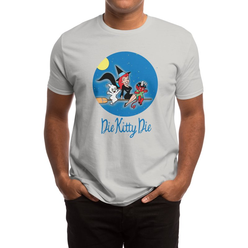 Bewitching Kitty & Friends Men's T-Shirt by Die Kitty Die Shop