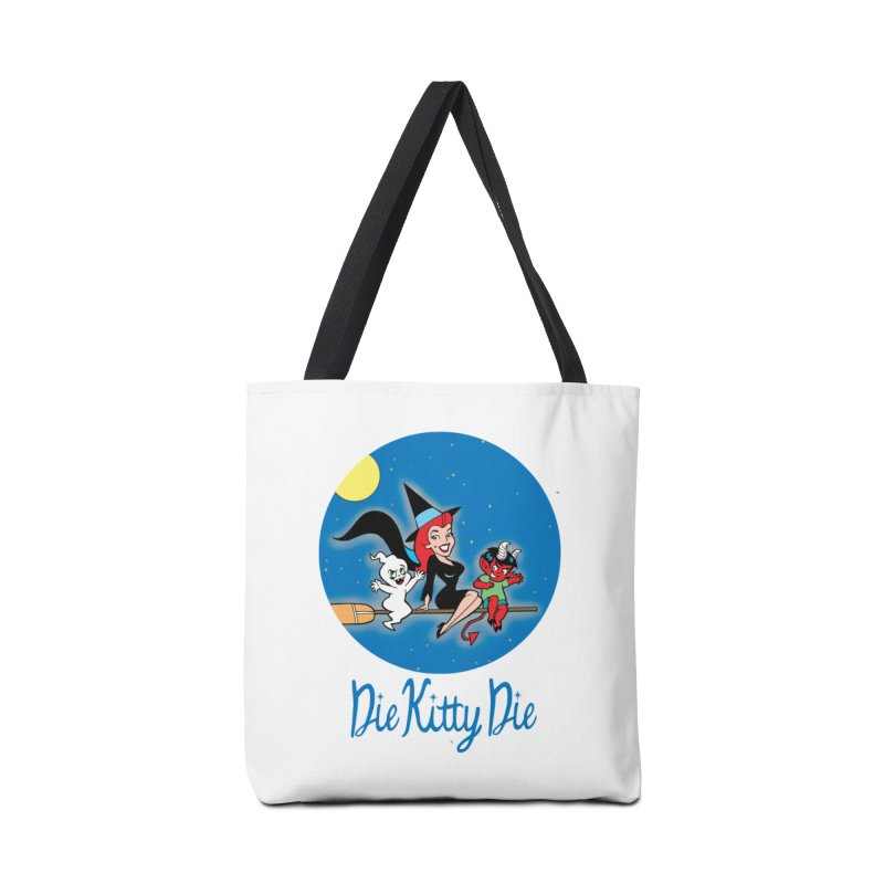 Bewitching Kitty & Friends Accessories Bag by Die Kitty Die Shop