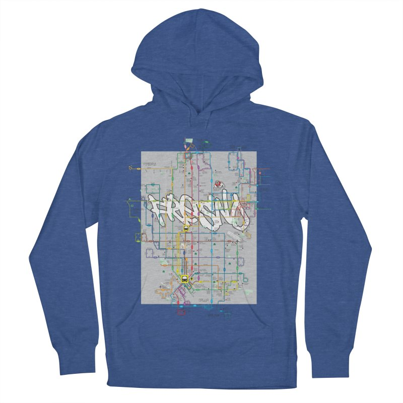 Fresno, CA Men's Pullover Hoody by digifab's lab