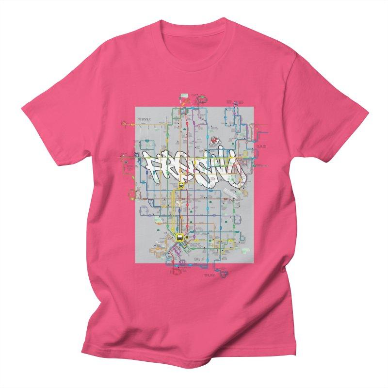 Fresno, CA Men's T-shirt by digifab's lab