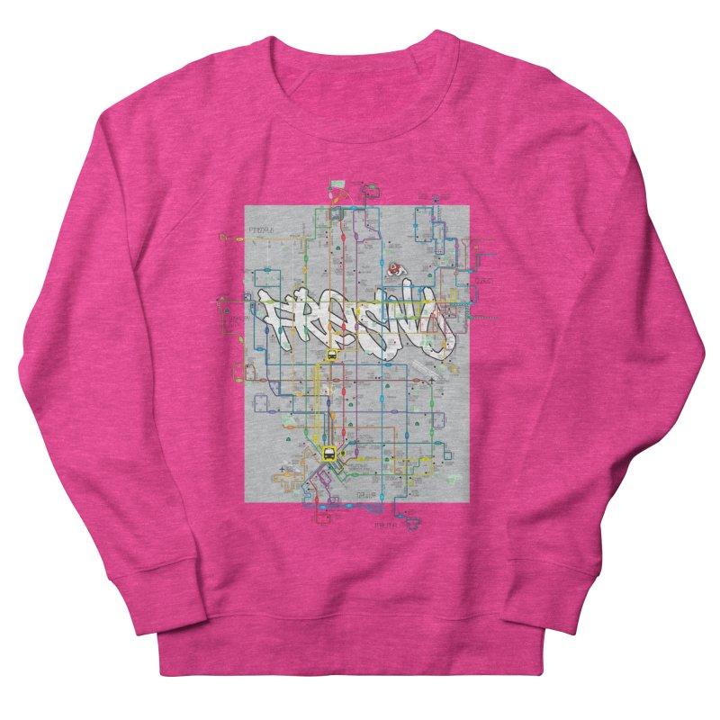 Fresno, CA Women's Sweatshirt by digifab's lab