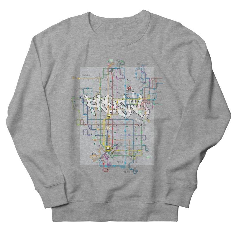 Fresno, CA Men's Sweatshirt by digifab's lab