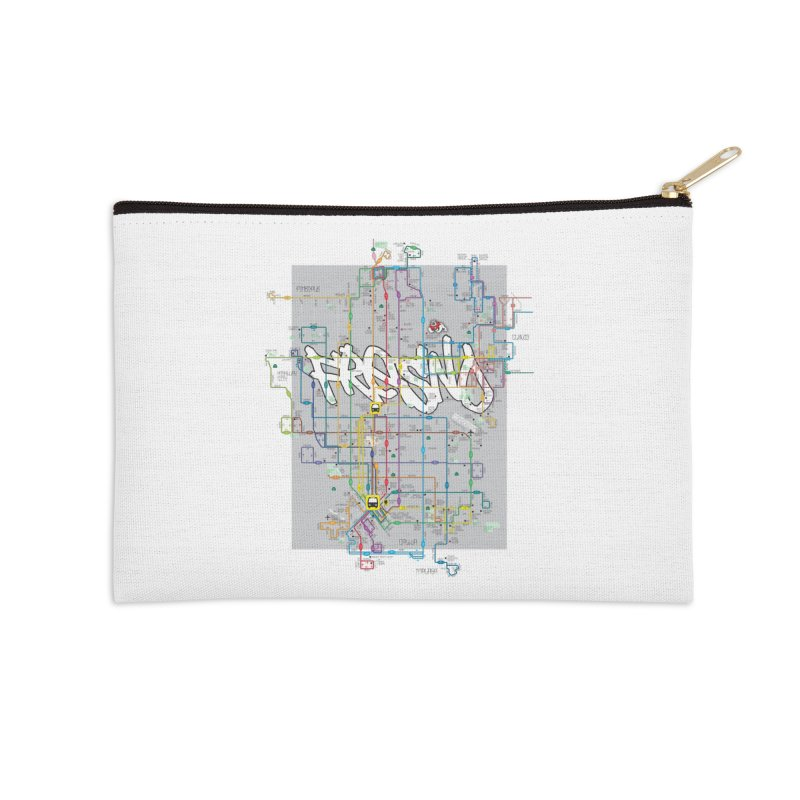 Fresno, CA Accessories Zip Pouch by digifab's lab