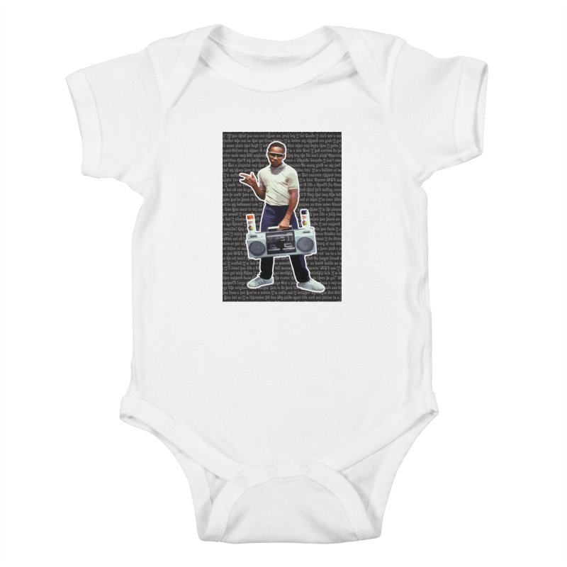 old skool Kids Baby Bodysuit by digifab's lab