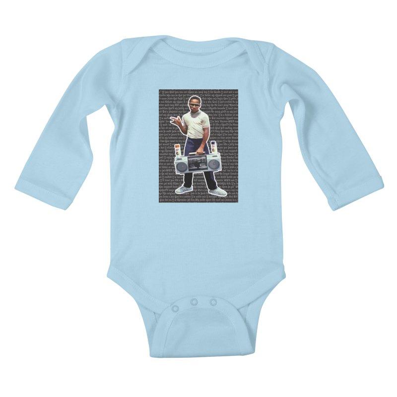 old skool Kids Baby Longsleeve Bodysuit by digifab's lab