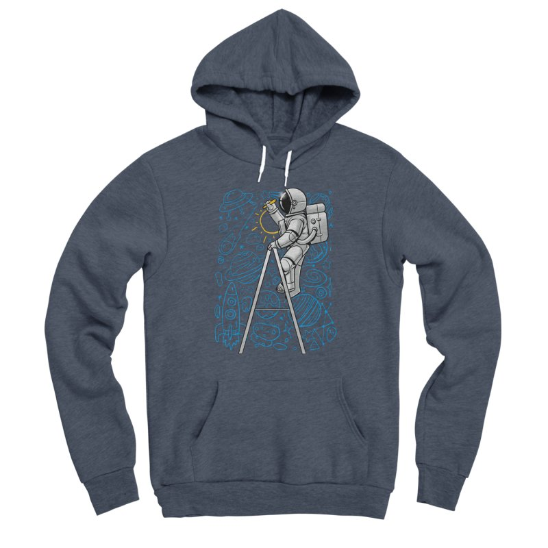 Space Doodle Women's Pullover Hoody by digital carbine