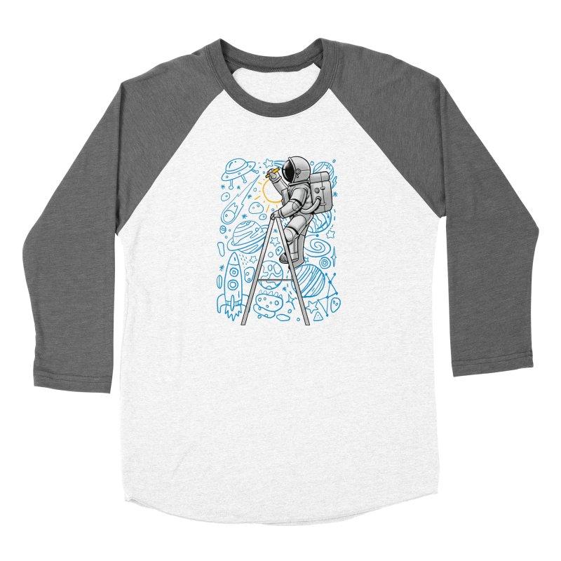 Space Doodle Women's Longsleeve T-Shirt by digital carbine