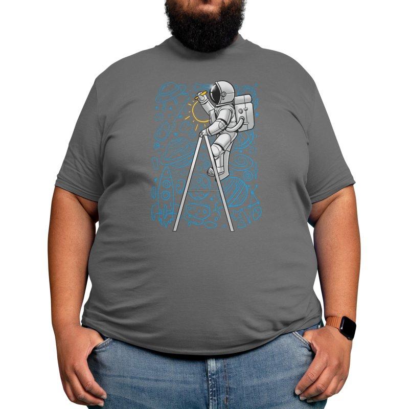 Space Doodle Men's T-Shirt by digital carbine