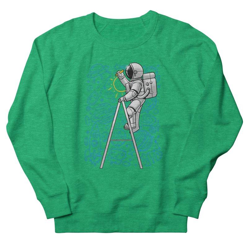 Space Doodle Women's Sweatshirt by digital carbine