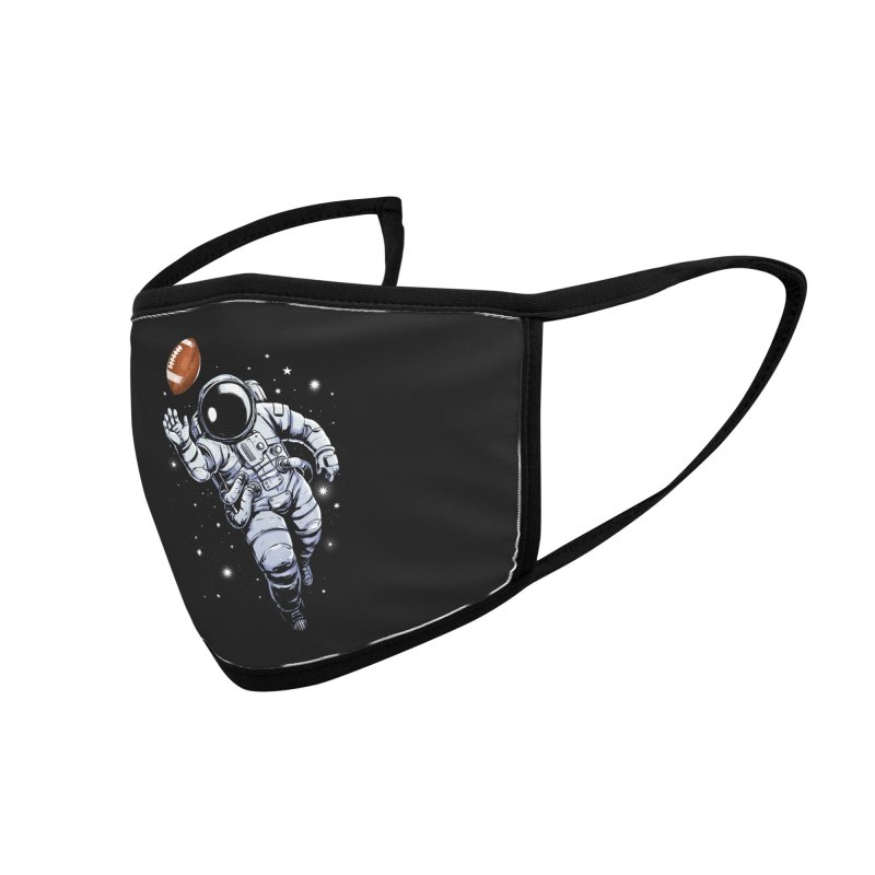 Planet Football Accessories Face Mask by digital carbine