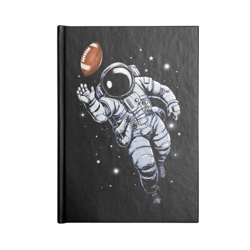 Planet Football Accessories Notebook by digital carbine