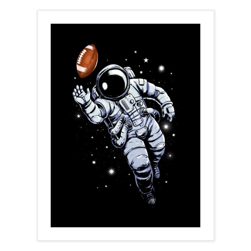 Planet Football Home Fine Art Print by digital carbine