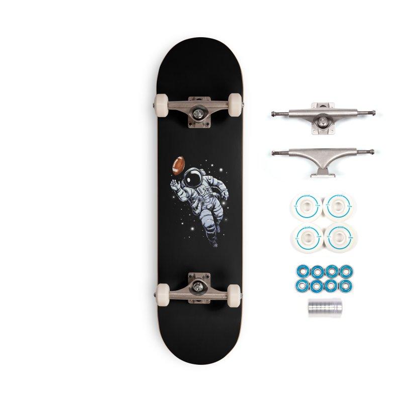 Planet Football Accessories Skateboard by digital carbine