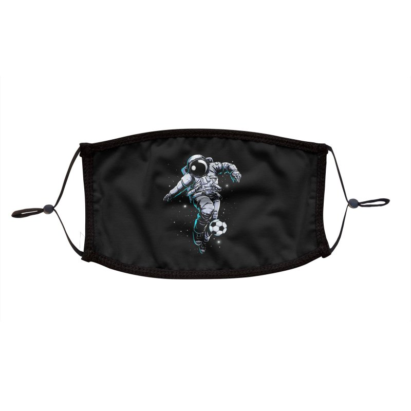 Space Soccer Accessories Face Mask by digital carbine