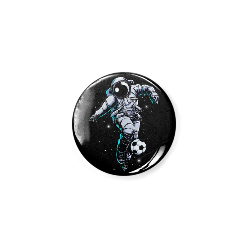 Space Soccer Accessories Button by digital carbine