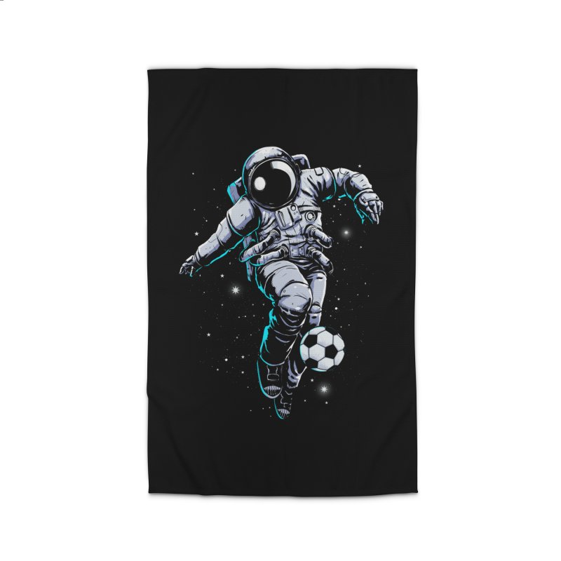 Space Soccer Home Rug by digital carbine