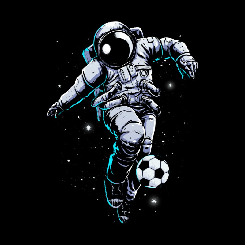 Space Soccer Accessories Sticker by digital carbine