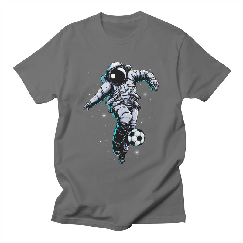 Space Soccer Men's T-Shirt by digital carbine