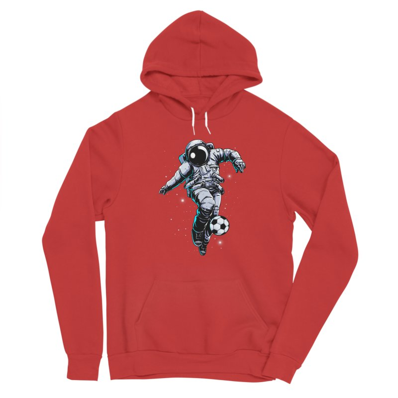 Space Soccer Men's Pullover Hoody by digital carbine