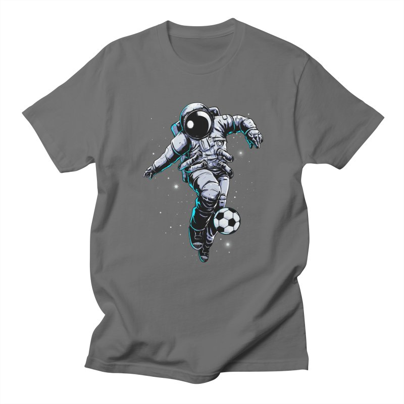 Space Soccer Men's T-Shirt by digital carbine