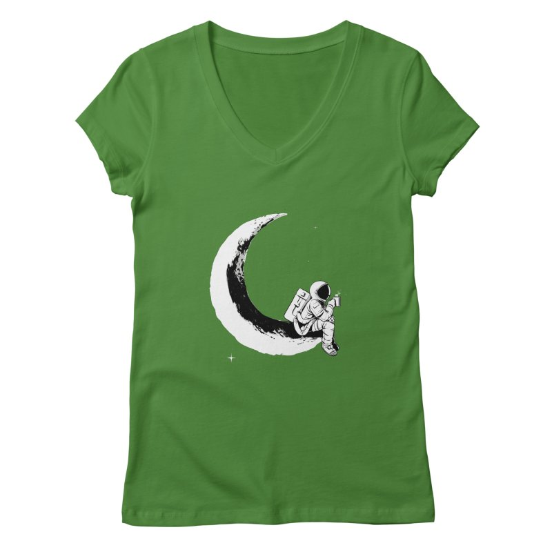 Relax Women's V-Neck by digital carbine