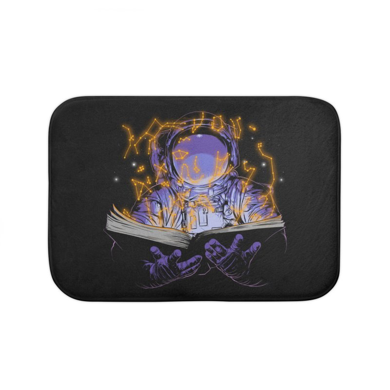 The Book of Stars Home Bath Mat by digital carbine