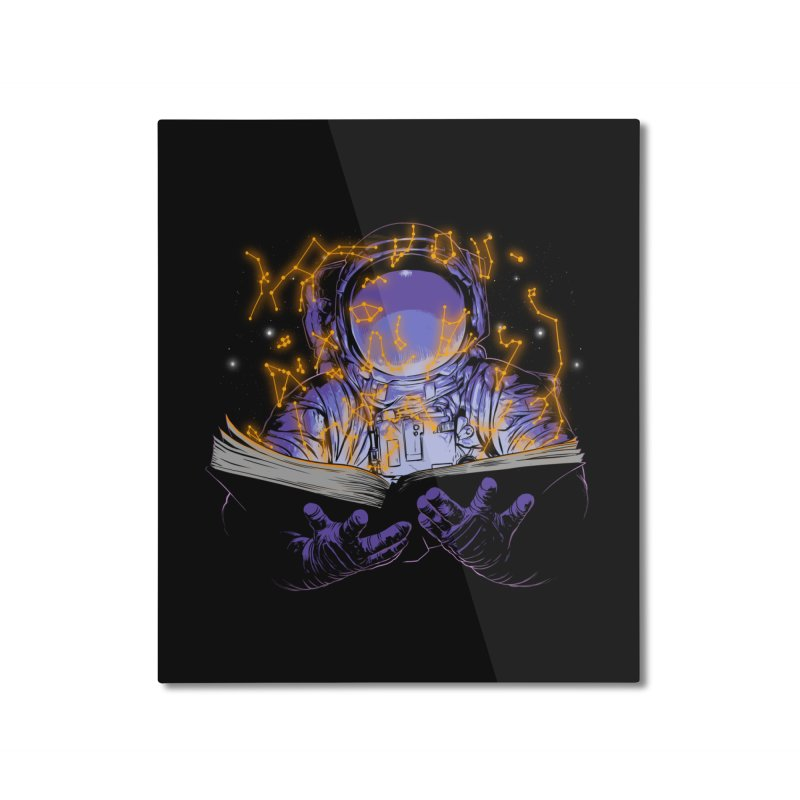 The Book of Stars Home Mounted Aluminum Print by digital carbine