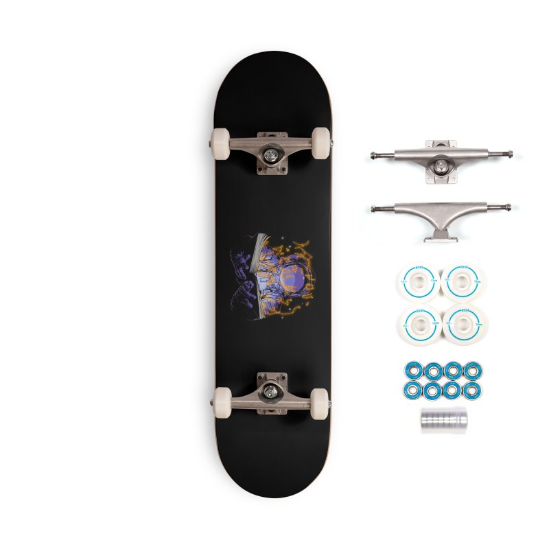 The Book of Stars Accessories Skateboard by digital carbine