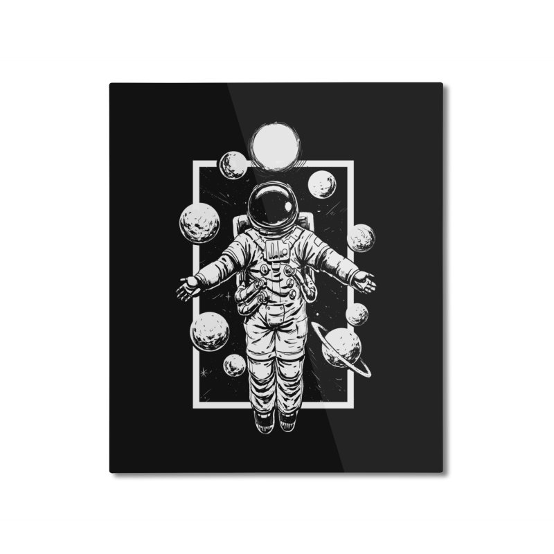 Feel Calm and Free Home Mounted Aluminum Print by digital carbine