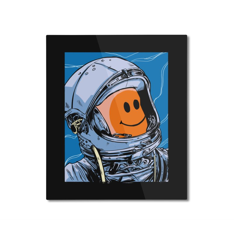 Positive Vibes Home Mounted Aluminum Print by digital carbine