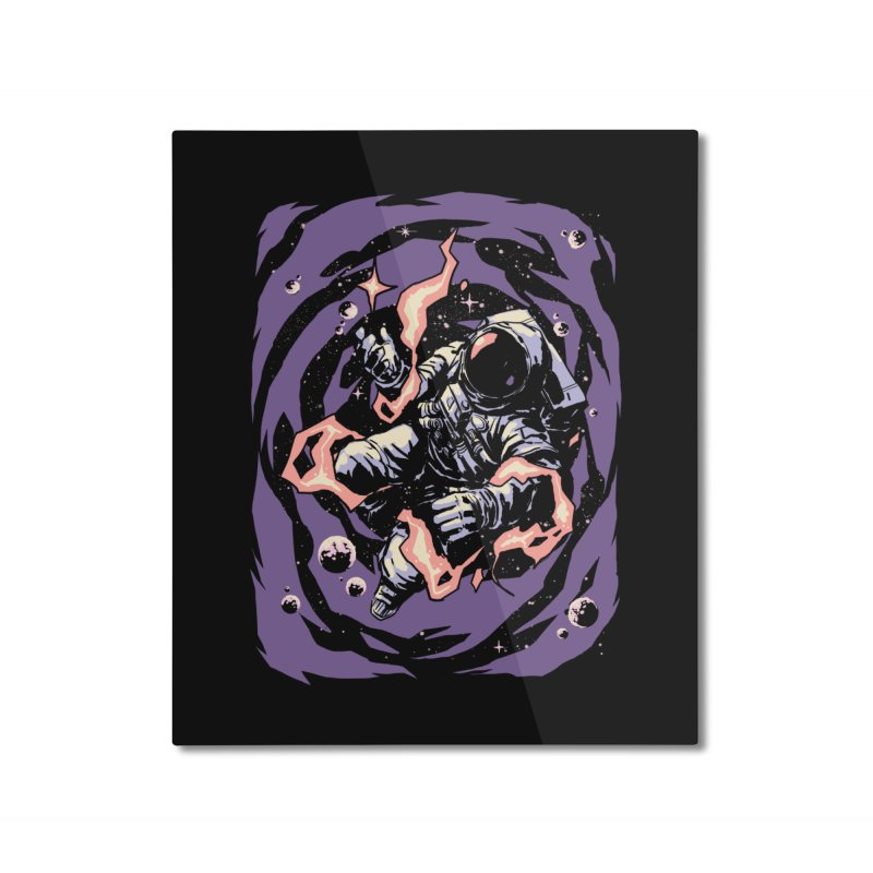 Reaching for the stars Home Mounted Aluminum Print by digital carbine