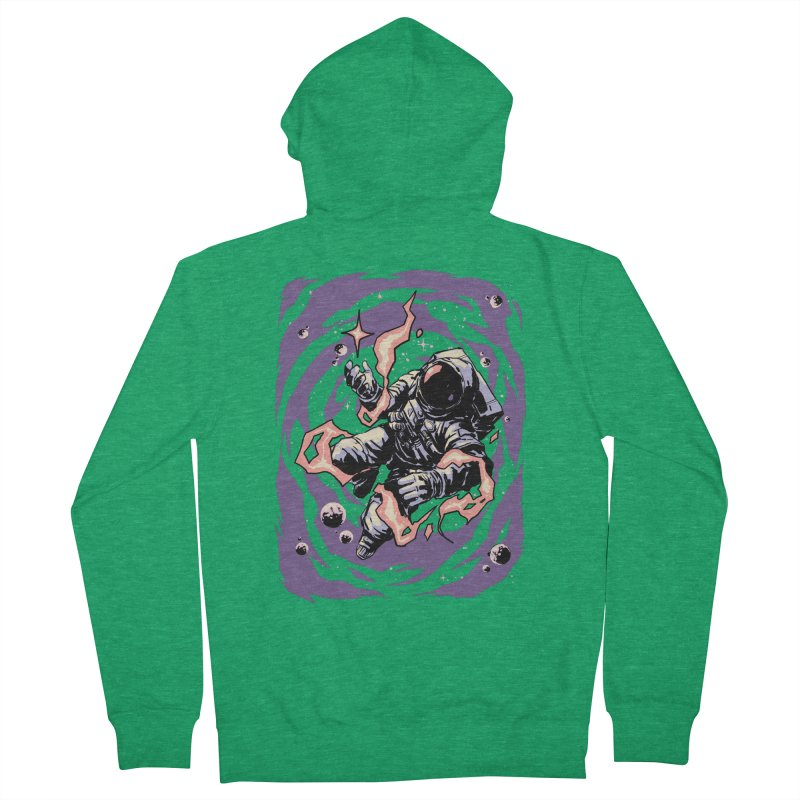 Reaching for the stars Women's Zip-Up Hoody by digital carbine