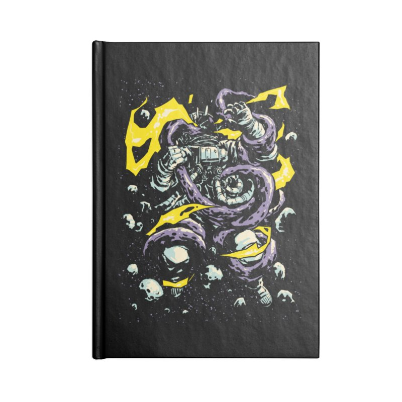 Space Trap Accessories Notebook by digital carbine