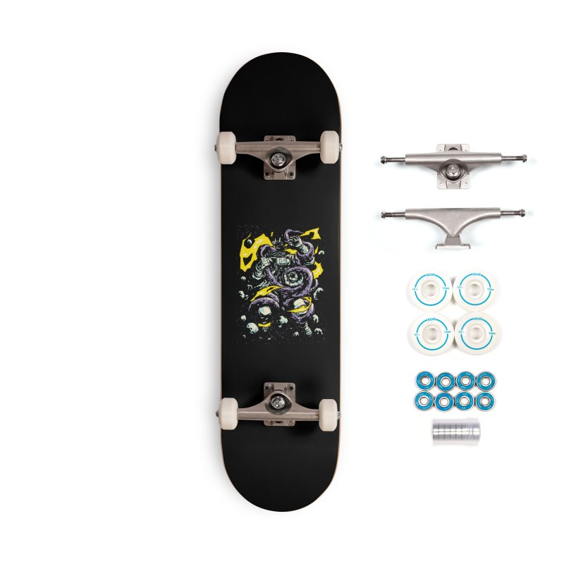 Space Trap Accessories Skateboard by digital carbine