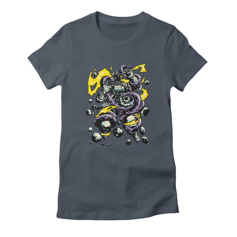 Space Trap Women's T-Shirt by digital carbine