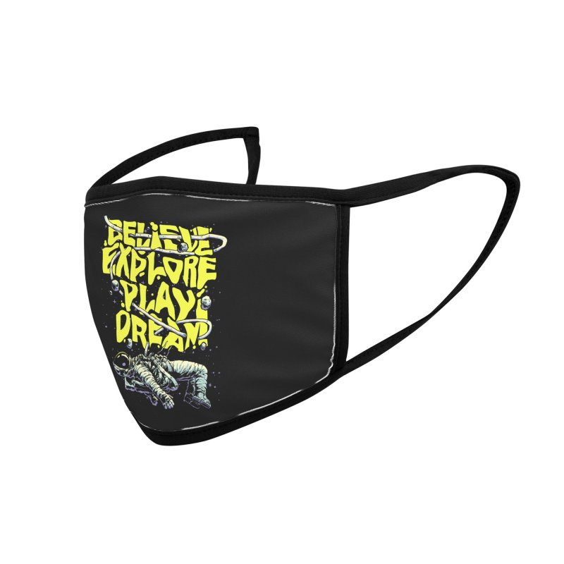 Believe Accessories Face Mask by digital carbine