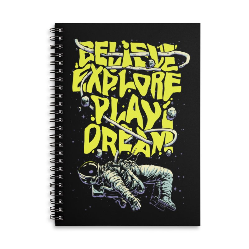 Believe Accessories Notebook by digital carbine