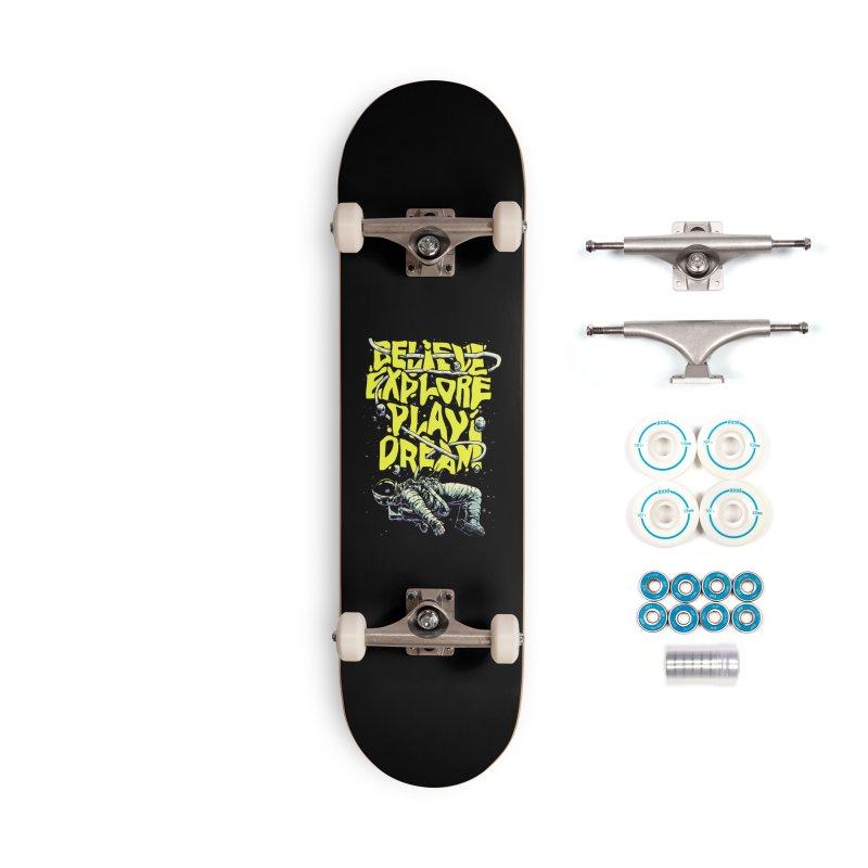 Believe Accessories Skateboard by digital carbine