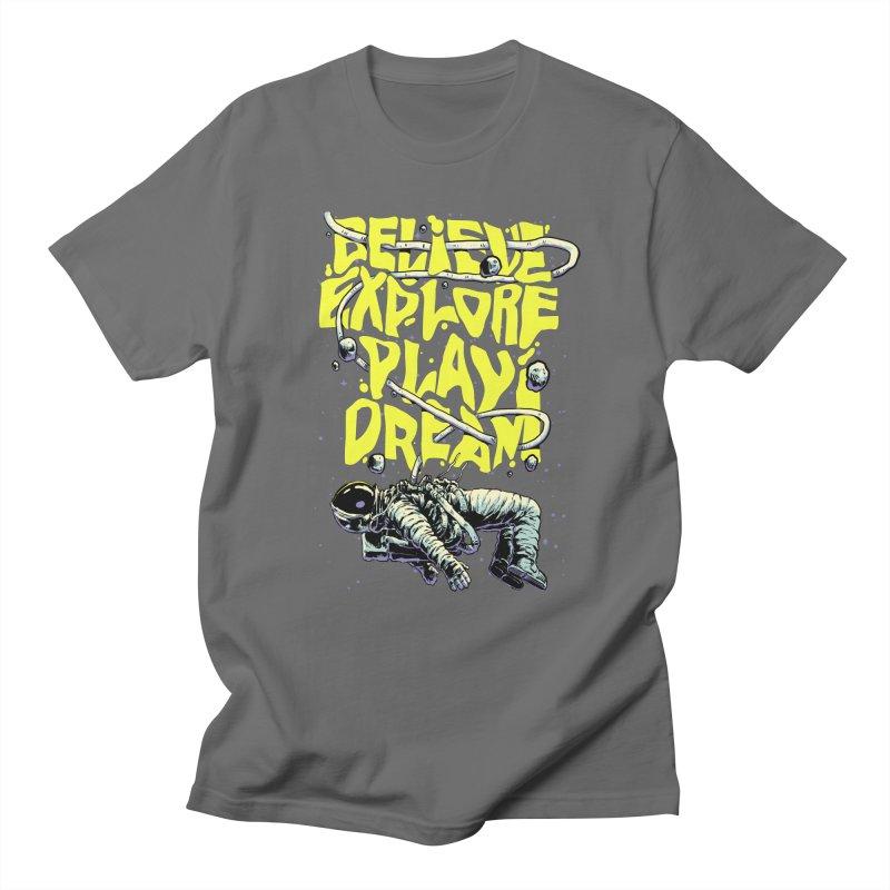 Believe Men's T-Shirt by digital carbine