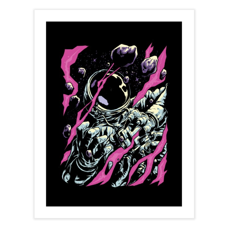 Outer Limits Home Fine Art Print by digital carbine
