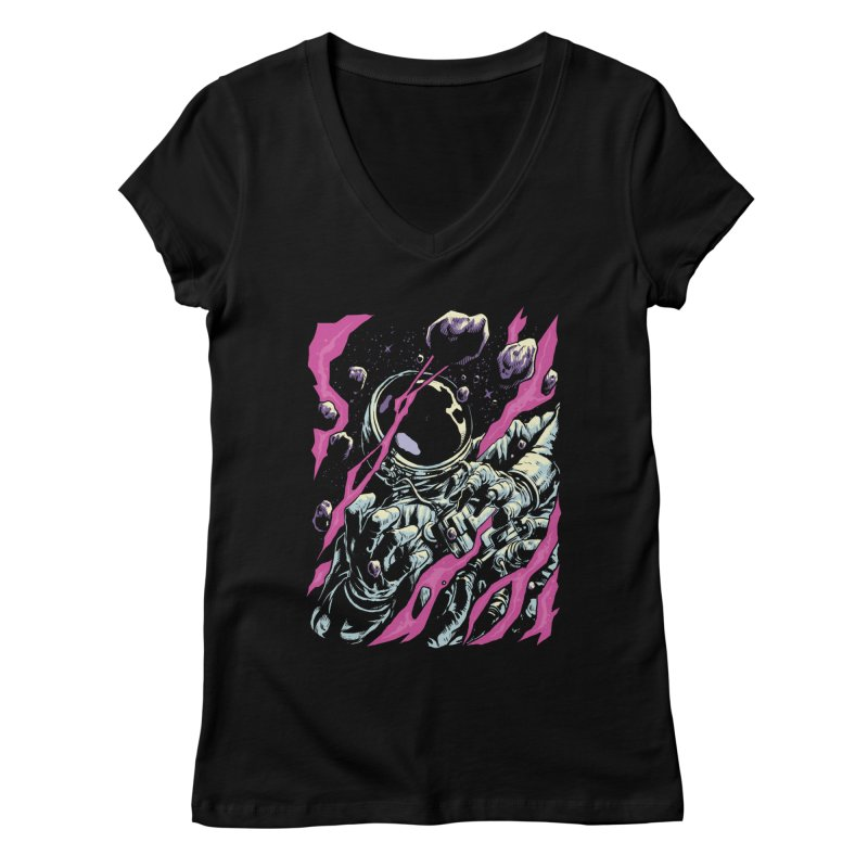 Outer Limits Women's V-Neck by digital carbine