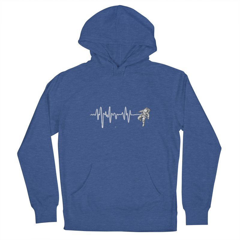 Space Heartbeat Women's Pullover Hoody by digital carbine